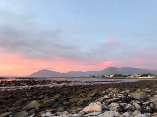 Table Mountain From Kommetjie, Cape Town, South Africa
